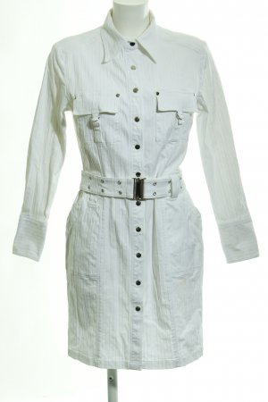 Apart Long Jacket white striped pattern casual look
