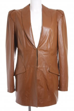 Apart Leather Blazer light brown casual look