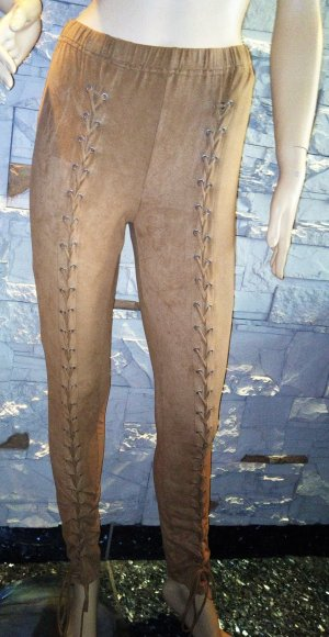 Apart Jeggings beige mixture fibre
