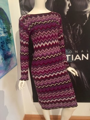 Apart Knitted Dress multicolored