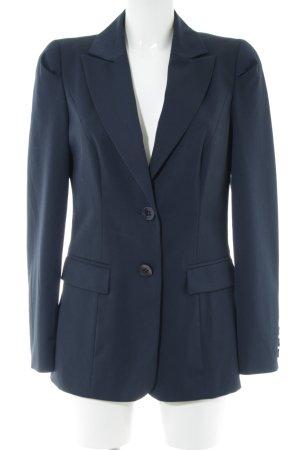 Apart Long-Blazer blau Business-Look