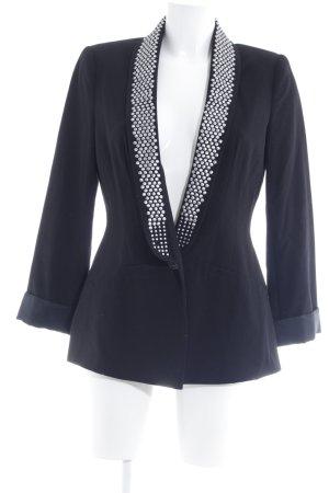 Apart Long-Blazer schwarz extravaganter Stil
