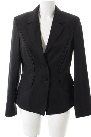 Apart Long-Blazer schwarz klassischer Stil