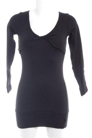 Apart Lange jumper zwart casual uitstraling