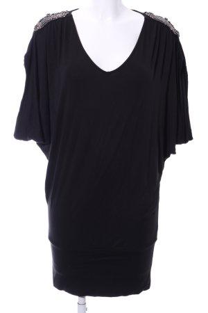 Apart Camicia lunga nero stile casual