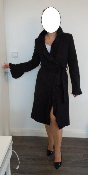Apart Mantel schwarz Rüschen süß  elegant