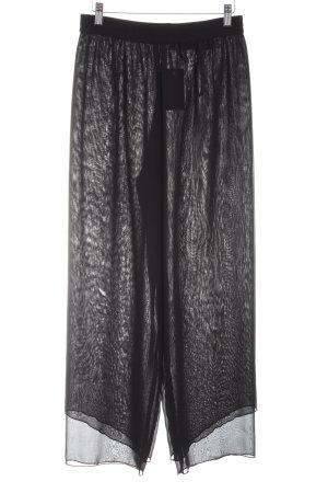 Apart Marlene Dietrich broek zwart extravagante stijl