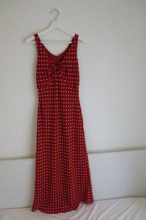 Apart Maxikleid S 36 38 Pin-Up Rockabilly 60's *NEU* rot-weiß gepunktet süß romantisch