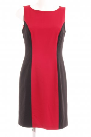 Apart Minikleid schwarz-rot Elegant