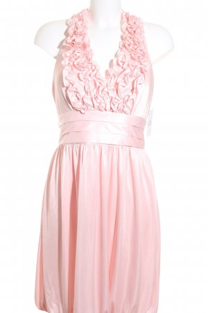 Apart Neckholderkleid rosa Party-Look