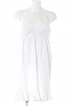 Apart Halter Dress white beach look