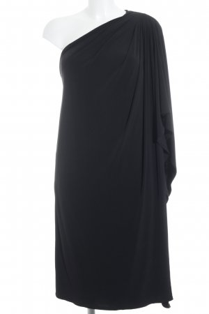 Apart One-Shoulder-Kleid schwarz Party-Look