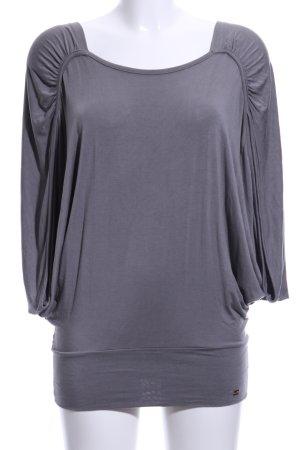 Apart Oversized shirt lichtgrijs casual uitstraling