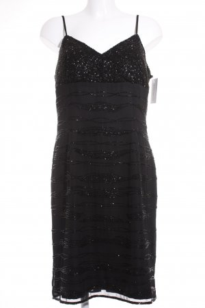 Apart Vestido de lentejuelas negro estilo fiesta