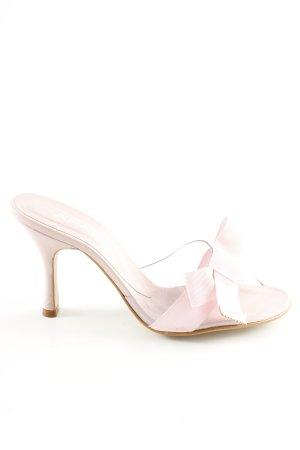 Apart Sandalo con cinturino e tacco alto rosa elegante