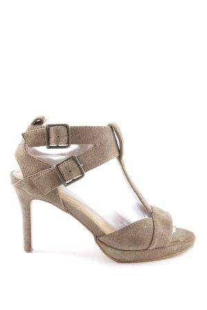 Apart Riemchen-Sandaletten braun Casual-Look