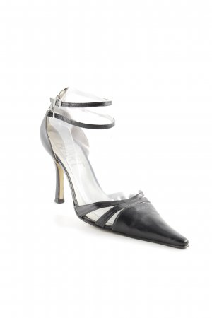 Apart Strapped pumps black business style