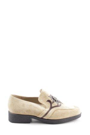 Apart Scarpa slip-on bianco sporco stile casual