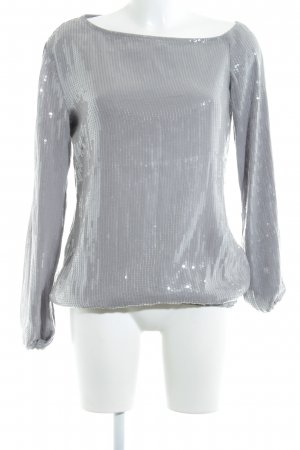Apart Schlupf-Bluse silberfarben-grau Elegant