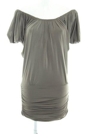Apart schulterfreies Kleid khaki 90ies-Stil