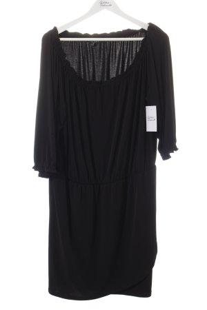 Apart schulterfreies Kleid schwarz Elegant