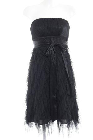 Apart schulterfreies Kleid schwarz Party-Look