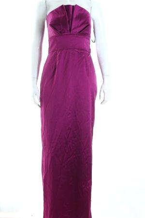 Apart schulterfreies Kleid violett Eleganz-Look