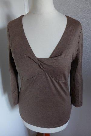 Apart Wraparound Shirt multicolored silk