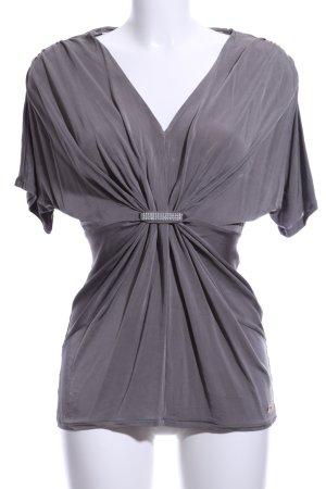 Apart Camicia a tunica grigio chiaro elegante