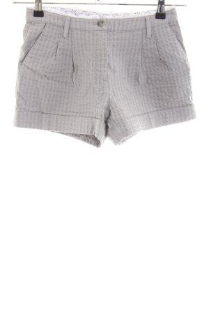 Apart Shorts hellgrau Streifenmuster Casual-Look