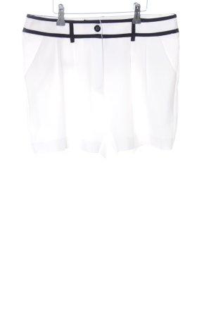 Apart Shorts weiß-schwarz Casual-Look