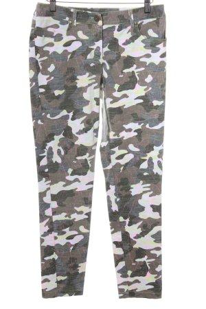 Apart Slim Jeans Camouflagemuster Casual-Look