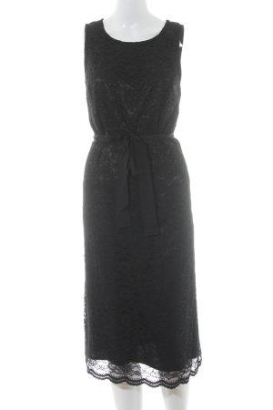 Apart Spitzenkleid schwarz Elegant