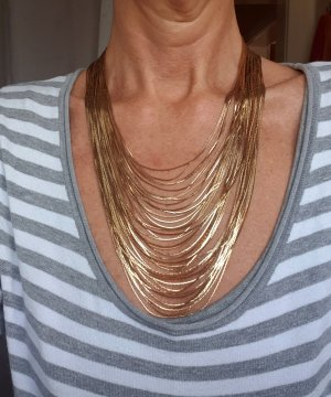 Apart Collier Necklace gold-colored