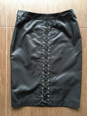 Apart Midi Skirt black mixture fibre