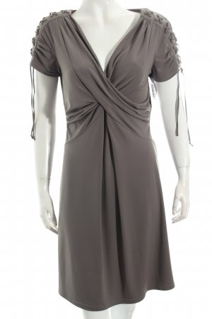 Apart Stretchkleid khaki Wickel-Look