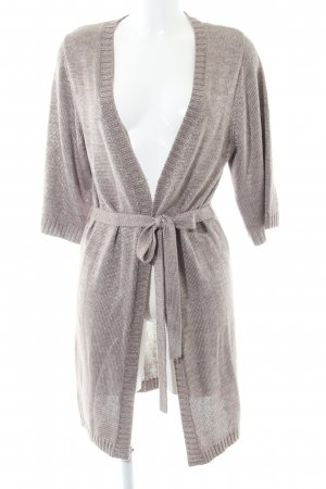 Apart Knitted Cardigan light grey casual look