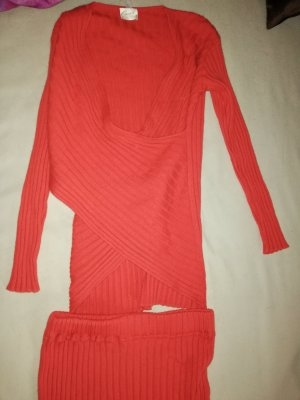 Apart Knitted Top salmon