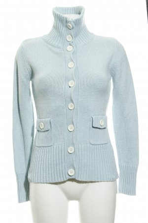 Apart Strickjacke babyblau Casual-Look