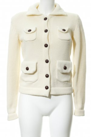 Apart Strickjacke creme Casual-Look
