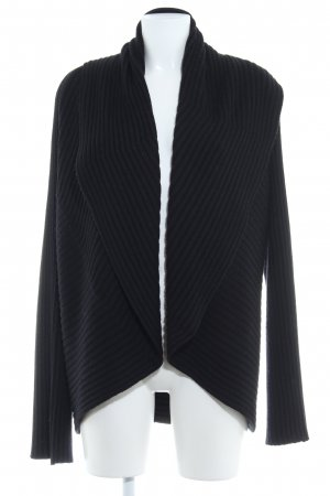 Apart Cardigan black weave pattern casual look