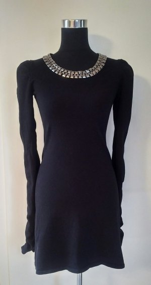 Apart Knitted Dress black