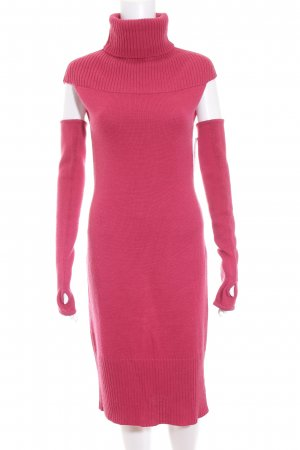 Apart Strickkleid pink extravaganter Stil
