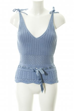 Apart Knitted Top cornflower blue casual look