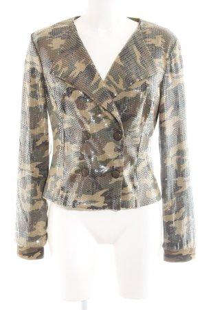 Apart Blazer sweat motif de camouflage style extravagant
