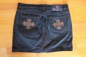 Apart Teresa Lourenco Jeans Mini Rock Gr. 40 blau TOP