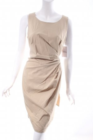 Apart Trägerkleid hellbeige klassischer Stil