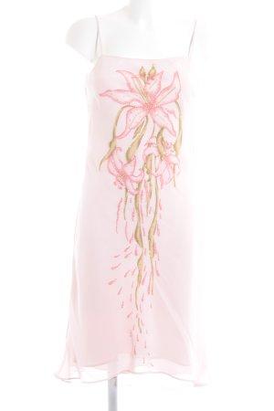 Apart Trägerkleid rosé florales Muster Elegant