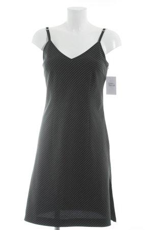 Apart Trägerkleid schwarz-weiß Nadelstreifen Casual-Look