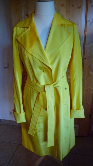 Apart Between-Seasons-Coat yellow mixture fibre